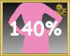 140% Scaler Hips