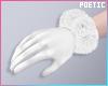 P|WhiteFurGloves