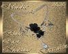 !a DRV Blk Rose Necklace