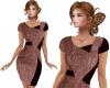 TF* Designer Dress Brown