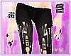 . black dRIP leggings