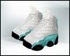 Aqua Teal Sneakers ( F )
