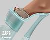 Sage heels