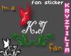 !KJ Fan Sticker #1