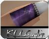 *Gem Purple Party Nails