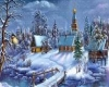 Christmas Village Town