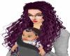 Curly Deep liloc hair