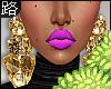 ♛.GoldStone  Earrings