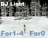 .S. DJ Light Forest Snow