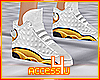 ! Gold Modern Sneakers F
