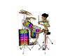 EG Cozy Club Drum Set