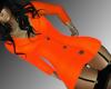 Orange-Elegant Dress RLL