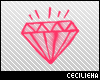 Pink Diamond Sticker!