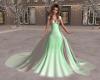 Elegant Green/White Wedd