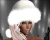 White Santa Hat