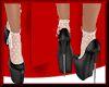 Lollie Shoes+Socks Bk&W