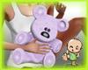 *Bb*Mom's Bear purple
