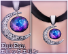 [E]*Moon Galaxy Nacklace