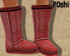 Comfort Boots Mauve