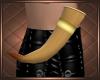 Tan Drinking Horn