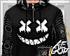 Ⱥ™ Black Smile Hoodie