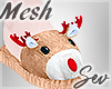*S Reindeer Slippers M