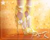 ✩ S Daisy Ribbon Heels