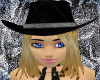 Midnight Cowgirl Hat DB3
