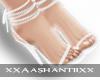 [Mira] White Heels