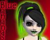 toxic green & black