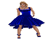 Blue Dance Dress