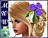 Wed Anne SK w/Purp Roses