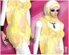 24:Muslimah Yellow Dress