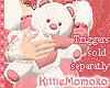 ~ KIDS Pink Teddy Bear 1
