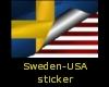 Sweden-Usa flag