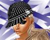Pinstripe Surena Hat