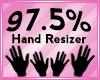 Hand Scaler 97.5%