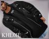 K Tony leather  jacket