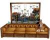 Couch Aquarium W/Poses