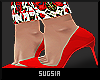 S|MissRose|Red Pumps