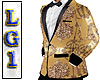 LG1 Gold & Black Jacket