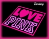 ''LOVE PINK'' Rug