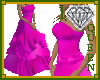 1DQ Pink Lady Gown
