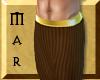 ~Mar Pharaoh Skirt Brown