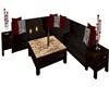 Lovers sofa set