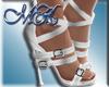~MK~Boss Shoes Silver