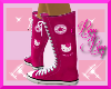 *RR* Pink Kitty Converse