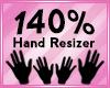 Hand Scaler 140%