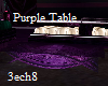 Dark Purple small table