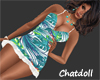 C)Sexy Tropical  Dress